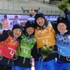 Photogallery - The biathlon brings us a seventh medal, bronze in the mixed relay